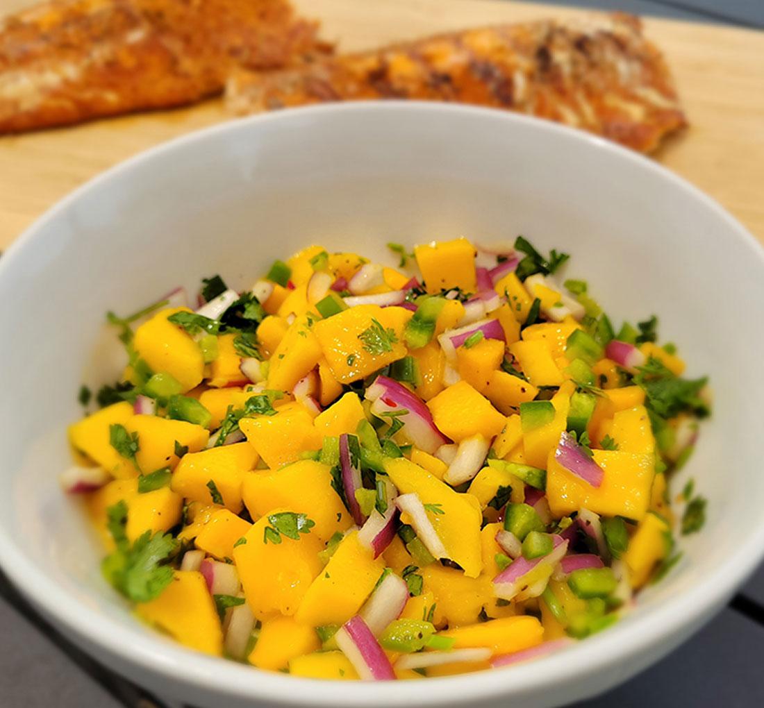 Norma's Mango Salsa