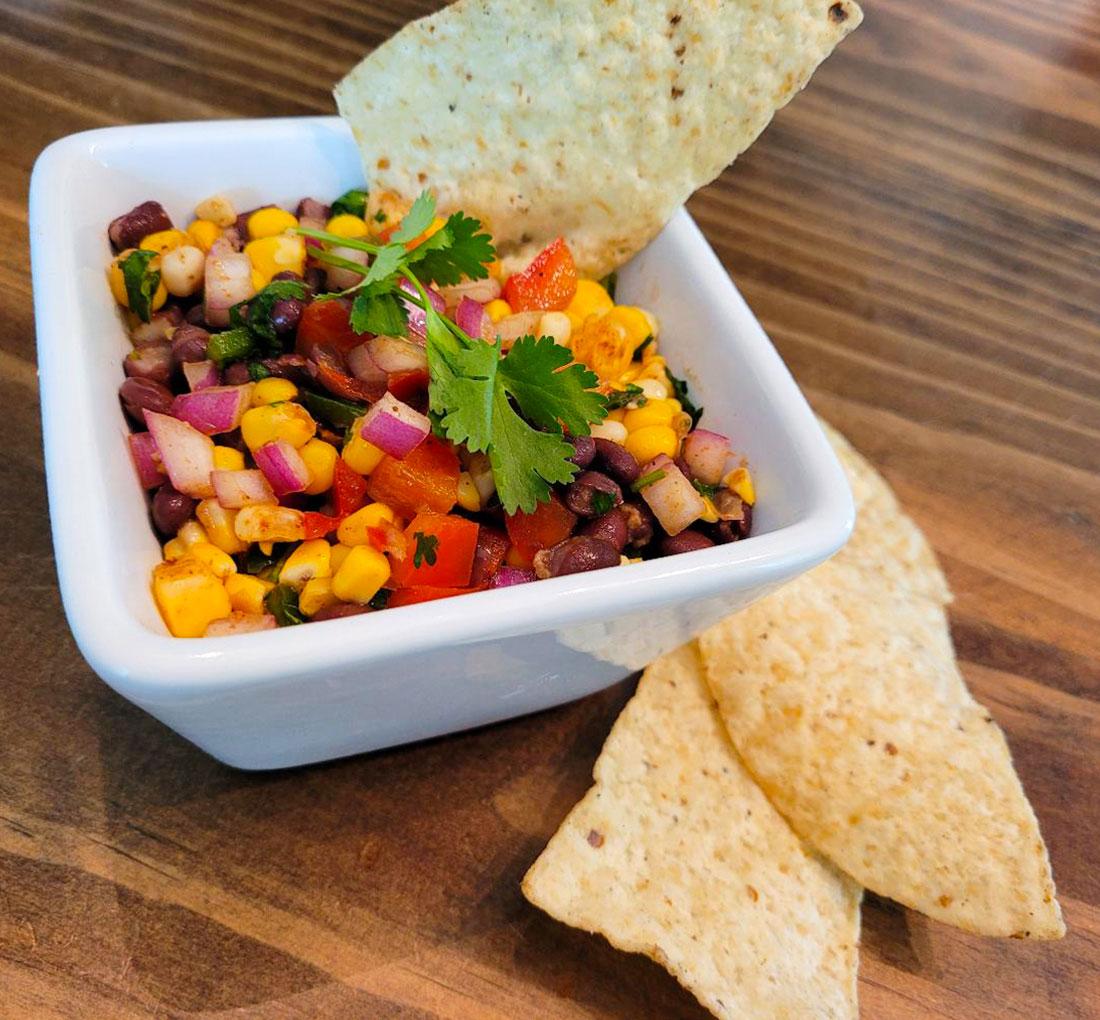 Southwestern Corn & Bean Salsa